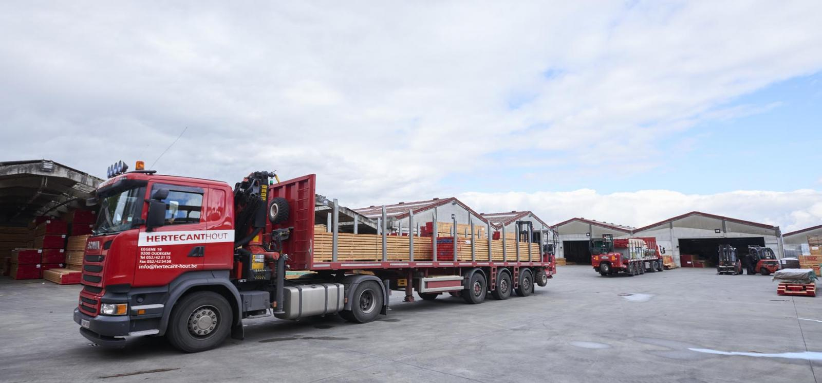 Transport Hertecant Hout